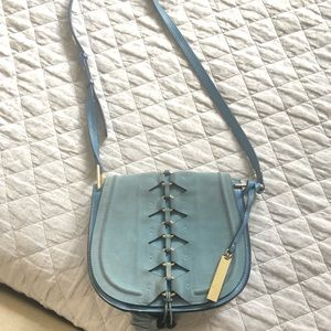 Vince Camuto Suede/Leather Crossbody